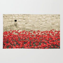 Tower Poppies 02A Rug