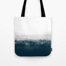 Ocean No. 1 - Minimal ocean sea ombre design  Tote Bag
