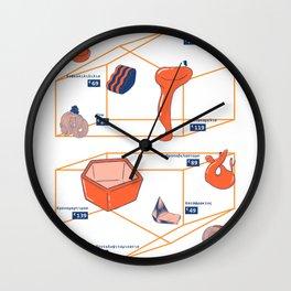 κλαν product poster Wall Clock