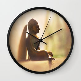 Dreaming Like Buddha Wall Clock