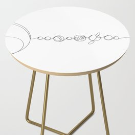 Line to the Universe Side Table