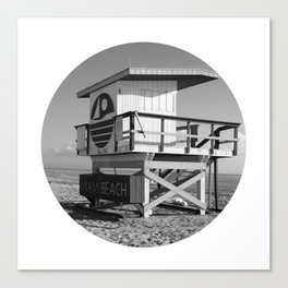 Beach Hut 2 Canvas Print