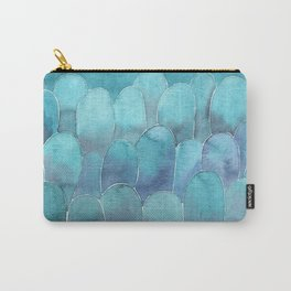 Ble abstract shapes Carry-All Pouch