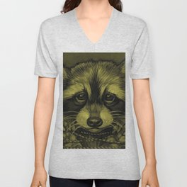 Trash Panda Unisex V-Neck