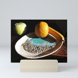 Hand sculpted Pottery Mini Art Print
