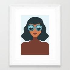 Future So Bright Framed Art Print