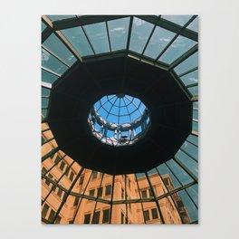 Dome Ceiling Kleman's Plaza Canvas Print