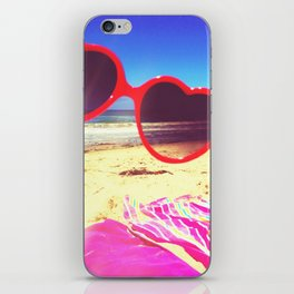 Heart lies with the Pacific iPhone Skin