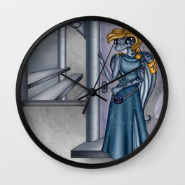 Recipience's Refuge Wall Clock