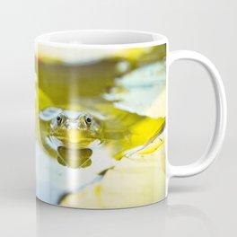 Frog in a Pond Coffee Mug