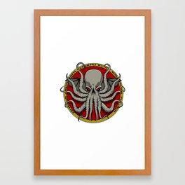 Cthulhu Face Framed Art Print