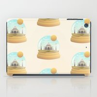 globe iPad Cases featuring Sand Globe by Moremo