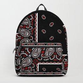 Wicked Black Bandana Backpack