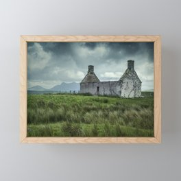 The Abandoned House Framed Mini Art Print