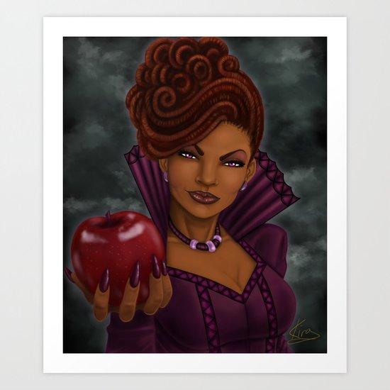 The Dreaded Queen Art Print