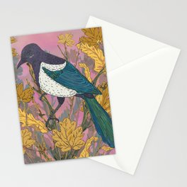Magpie and Maple Stationery Cards