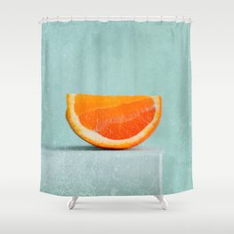 summer in orange II Shower Curtain