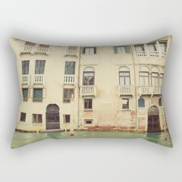 Venice Waterways Rectangular Pillow