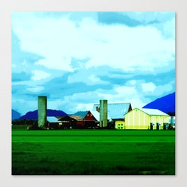 All At Once We Had It In For The Sky Canvas Print