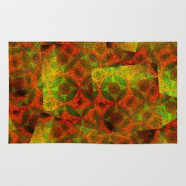 Moorish Pattern Collage Rug
