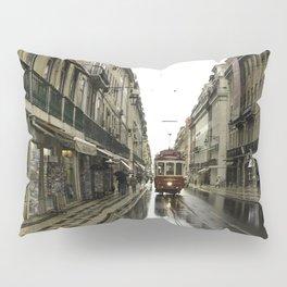 Morning Street Car Pillow Sham
