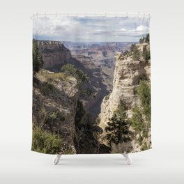 A Vertical View - Grand Canyon Shower Curtain
