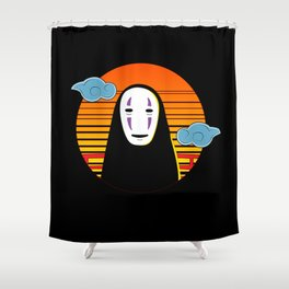 No Face a Lonely Spirit Shower Curtain