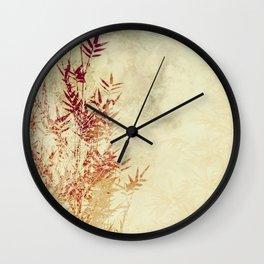 BAMBOO PART I Wall Clock