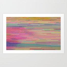 into nature (hex2_crop2) Art Print