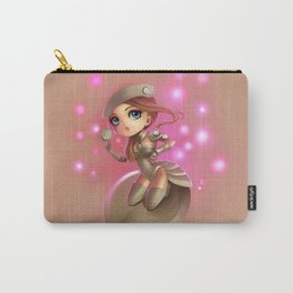 Button Girl  Carry-All Pouch
