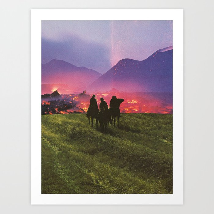Three Riders Art Print