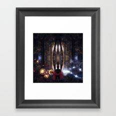 Secret Splendor of Night Framed Art Print