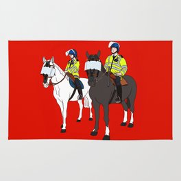 London Metropolitan Horse Cops Rug
