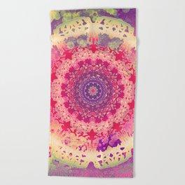 Anenome Mandala Beach Towel