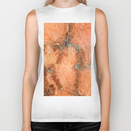Abstract mineral texture Biker Tank