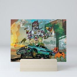 B-Side Low Ride Mini Art Print