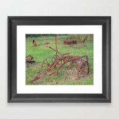 old wheels Framed Art Print