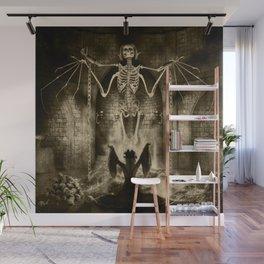 Dark Victorian Portrait Series: Lady Charlotte Nightshade, Her Majesty's Necromancer Wall Mural