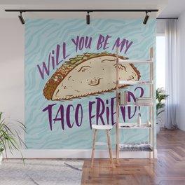 Taco Friend Wall Mural