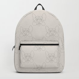 One Line Corgi Backpack