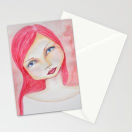 Bella SASS Girl - Rose - SASS = Strong and Super Smart Stationery Cards