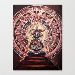 Mayan Cacao God Canvas Print