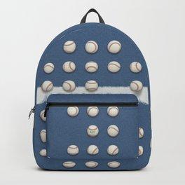 Balls On Blue Field Backpack