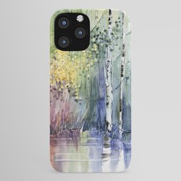 4 Season watercolor collection - summer iPhone Case