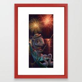 """Gondola Grandeur"" Framed Art Print"