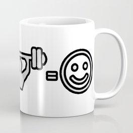 FITNESS MAKE ME HAPPY Coffee Mug