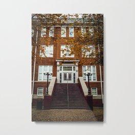 Autumn University Metal Print