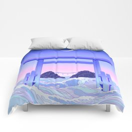 Floating World Comforters