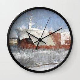 Edgar B Speer at West Pier Wall Clock