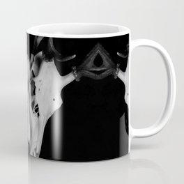 Three Deer Skulls Coffee Mug